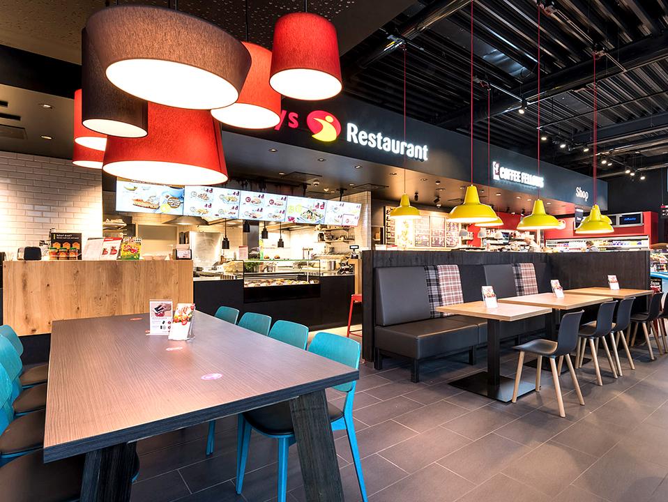 Serways Restaurant Eichsfeld Nord